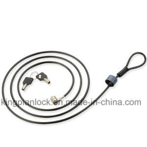Laptop and PC Computer Safe Cable Key Lock with Master Key pictures & photos
