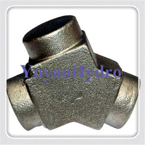Hydraulic Fittings Y Hot Forging pictures & photos