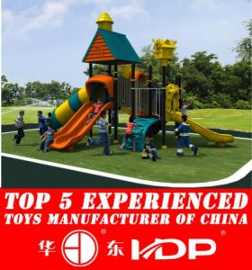 Huadong Villa Kid′s Outdoor Playground (HD14-092C) pictures & photos