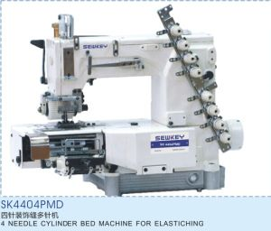 Sk4404pmd 4 Needle Cylinder Bed Machine for Elastiching