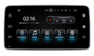 """Carplay for 9""""Smart GPS Navigator Android 7.1-2+16g Car Videos HD 1024 * 600 pictures & photos"""