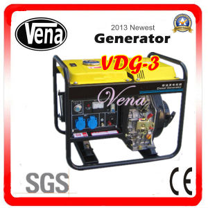 High Quality 3kw Diesel Generator with CE Approved (VDG-3) pictures & photos