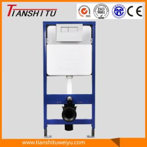 Zhongshan Guangdong Factory Ce Certificate Toilet Using Concealed Plastic Cistern pictures & photos