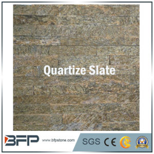 Pink/White/Rusty/Yellow/Red Quartize Culture Stone Ledgestone Slate Tiles pictures & photos