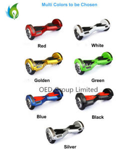 8′′ 2wheel Self Balancing Electric Scooter with Bluetooth Play with Flashlight pictures & photos