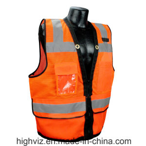 Reflective Vest with ANSI07 Certificate (C2024) pictures & photos