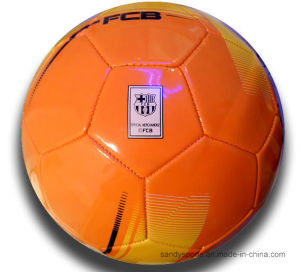 World Cup Soccer Ball, PVC Leather Machine-Sewn Soccerball pictures & photos