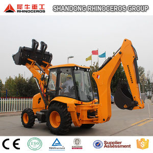 Xiniu Backhoe Loader, 4X4 Compact Tractor with Loader and Backhoe Xn880 Price pictures & photos