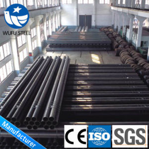 DIN Standard Carbon Welded St37 St52 Structure Pipe pictures & photos