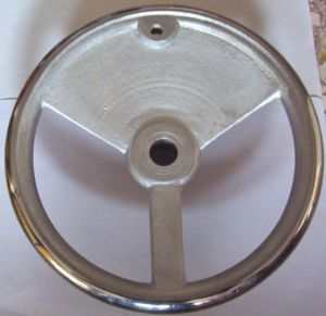 Unbalanced Cast Iron Handwheel for Machine pictures & photos