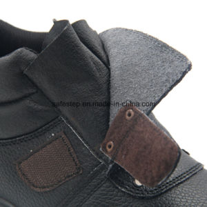 Genuine Leather No Lace Work Boots for Welder Worker pictures & photos