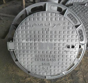 Dn600 Manhole Covers for Drainage and Sewerage for Motor Vehicle Road pictures & photos