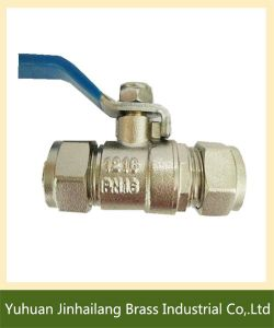 Pex Fitting Male Thread Brass Ball Valve with Lever Handle