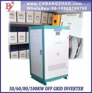 240V-360VDC 3 Phase 5 Wire Solar Power 50kw Hybrid Invertors pictures & photos