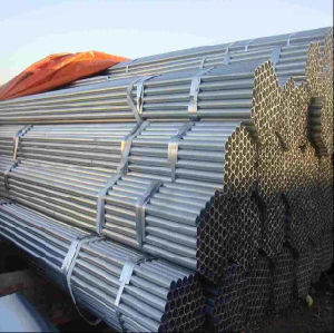 Hot DIP Galvanized ERW Round Steel Pipe/Tube in Stock pictures & photos