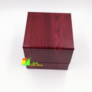 Deluxe Red Paper Watch Packing Gift Box pictures & photos