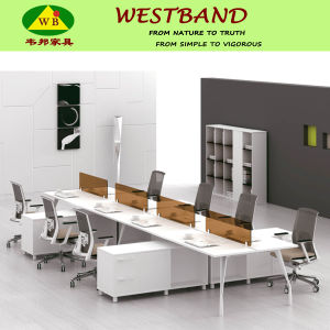 Newest Design Modern Linear Wooden Office Partition