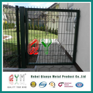 Galvanized and Polyester Powder Coated Welded Fence Big Folds pictures & photos