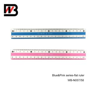 20cm PS Plastic Stationery Ruler for Office Supply