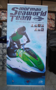 L Frame Banner Stand Display (BN-26) pictures & photos
