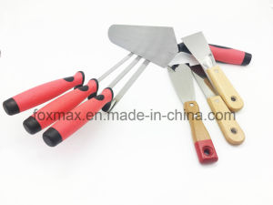 Tuck Pointing Trowel Set with TPR Handle Bt-025 pictures & photos
