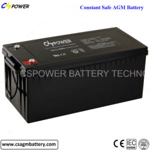 12V200ah Deep Cycle AGM Battery for Solar, UPS, Telecom, Inverter pictures & photos