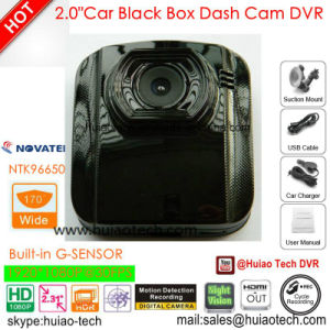 """2.0"""" Google GPS Map Play Back GPS Tracking Route Car DVR with 5.0mega Car Digtial Video Recorder, Dash Camera, H264, HDMI out, Car Black Box DVR-2001g pictures & photos"""