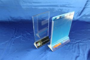 Customize Clear Acrylic Display Leaflet Holder pictures & photos