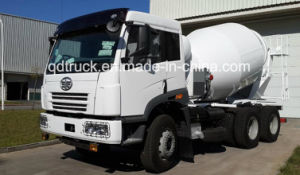 8-12 Cbm Faw Cement Mixer Truck pictures & photos