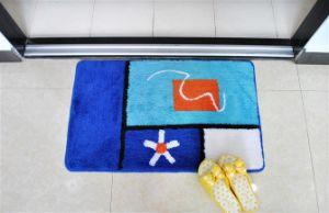 Microfiber or Acrylic Bath Floor Non-Slip Bathroom Toilet Cover Mat pictures & photos