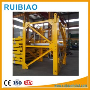 Double Slewing Mechanism Tower Crane Price L68A1 Mast Section pictures & photos