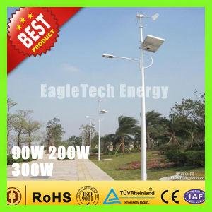 300W Wind Turbine Solar Hybrid Streetlight Wind Driven Generator Wind Mill