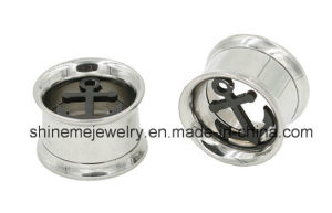 Hollow out Stainless Steel Tunnel Ear Plug pictures & photos
