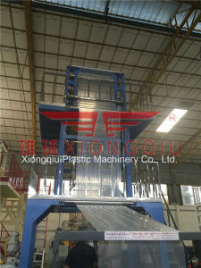 1400mm ABC 3 Layers Film Blowing Machine with Double Manual Friction Winder pictures & photos