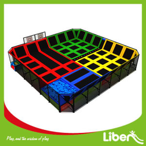 Free Jumping High Big Indoor Commercial Trampoline pictures & photos