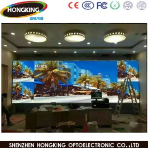 High Defination P2.5 Full Color Indoor Advertising LED Display Screen pictures & photos