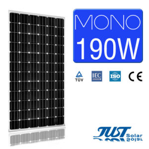 190W Mono Solar Panel with Certification of Ce CQC and TUV