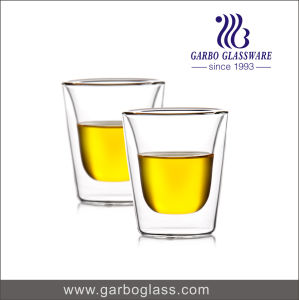 4oz Small Size Borosilicate Material Glass Mug with Handle for Hot Water and Tea Drinking (GB500010115) pictures & photos