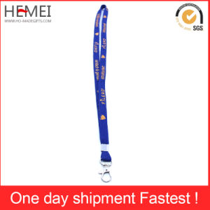 Lanyards with Bulldog Clip for ID Cards Neck Strap Keychain pictures & photos