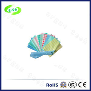 Full Color Plain Nonwoven Needle Punched Polyester ESD Cleaning Cloth pictures & photos