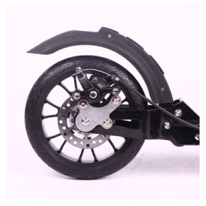 Ce Approved Adults Aluminum Alloy Kick Scooter with 200mm PU Wheel (SZKS007) pictures & photos