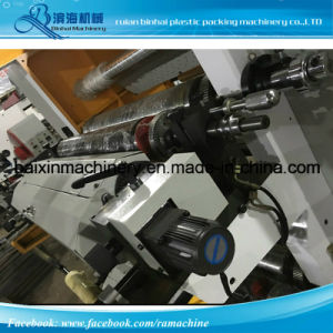 One Color Rolling Plastic Film Paper PP Woven Nonwoven Printing Machine Roll to Roll pictures & photos