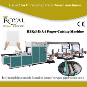 Automatic A4 Paper Production Line, A4 Paper Cutting and Packaging Machine with ISO pictures & photos