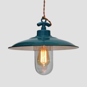 Industrial Enamel Pendant Lamp for Indoor