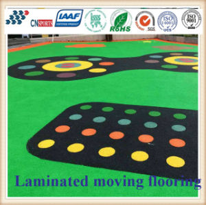 EPDM Soft Surface Floor Tiles/Rubber Flooring for Outdoor Sports Court pictures & photos