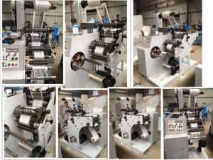 Rotary Die-Cutting with Slitting Machine pictures & photos