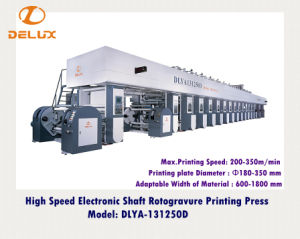 High Speed Electronic Shaft Rotogravure Printing Machine (DLYA-131250D) pictures & photos