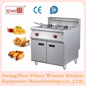 Commerical Electric Chips Fryer, Open Fryer 28L+28L pictures & photos