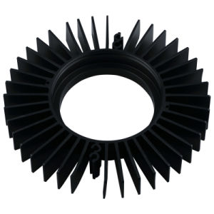 Customized Aluminum Extrusion for Heat Sink for LED pictures & photos