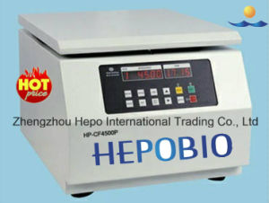 Medical Laboratory Clinic Prp Centrifuger Machine for Beauty Hospital (HP-CF4500P) pictures & photos